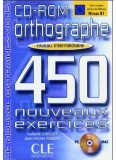 450 Orthographe Exercices Intermediaire Cd - Rom