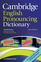 Cambridge English Pronouncing Dictionary (18th Edition) (Paperback)
