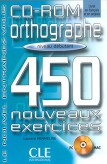 450 Orthographe Exercices Debutant Cd - Rom