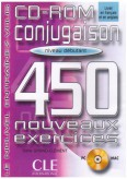 450 Conjugaison Exercices Debutant Cd - Rom
