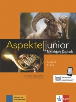 Aspekte junior B1 plus  Kursbuch mit Audio-Dateien zum Download