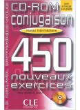 450 Conjugaison Exercices Intermediaire Cd - Rom
