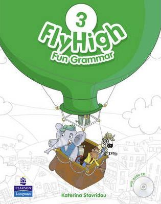 Fly High 3 Fun Grammar Pupils Book and CD Pack Грамматика с аудио диском Книга для ученика